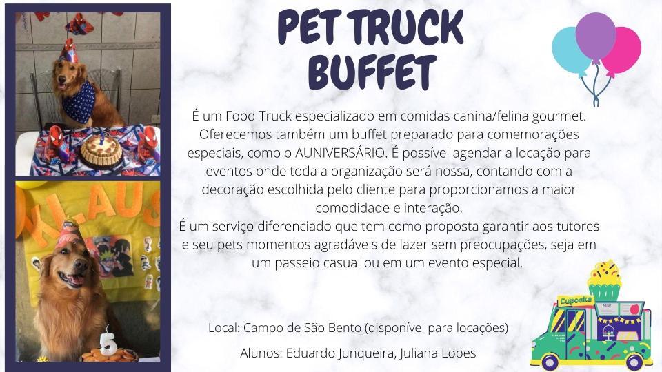 Pet Truck Buffet